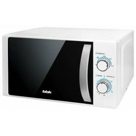 Микроволновая печь BBK 20MWS-711M/WS белый/серебро