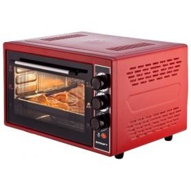 Мини-печь KRAFT KF-MO 4506 красный