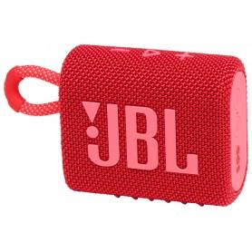 Акустика портативная JBL GO 3 red