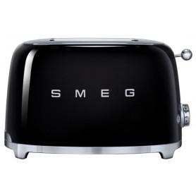 Тостер на 2 ломтика, SMEG TSF01BLEU , черный