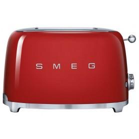 Тостер на 2 ломтика, SMEG TSF01RDEU, красный
