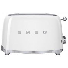 Тостер на 2 ломтика, SMEG TSF01WHEU, белый