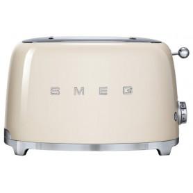 Тостер на 4 ломтика, SMEG TSF02CREU , кремовый